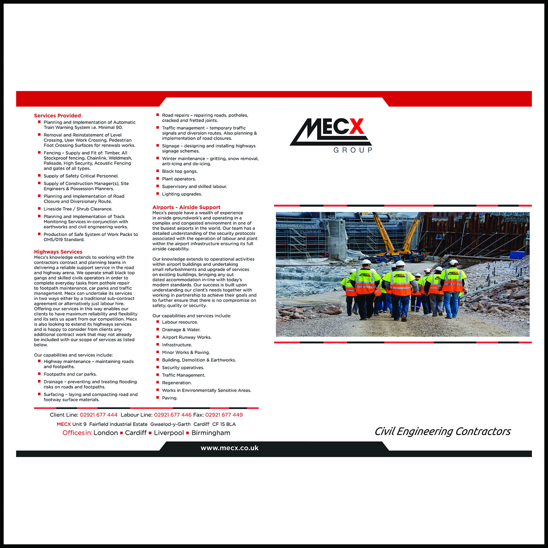 Rail Leaflet designs agency