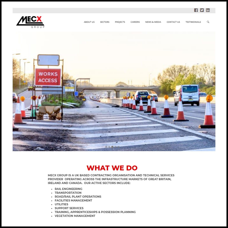Website Build – MECX Group