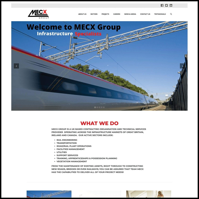 Rail Contractors Website